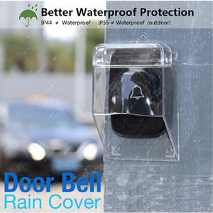 Harga rain cover tutup pelindung hujan bel pintu rumah wireless door bell   | HARGALOKA.COM