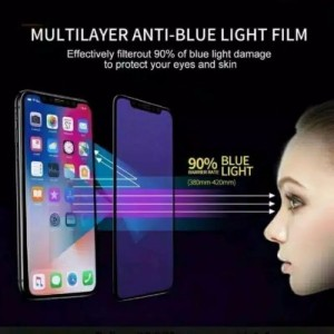 Harga tempered glass anti blue radiasi iphone 6 6 7 7 8 8 x xr xs max | HARGALOKA.COM