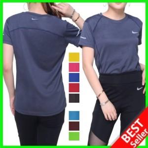 Harga baju fitnes lari running gym olahraga wanita kaos olah raga dry fit   navy nike size | HARGALOKA.COM