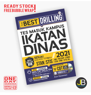 Harga asli buku ikatan dinas the best drilling tes masuk kampus ikatan | HARGALOKA.COM