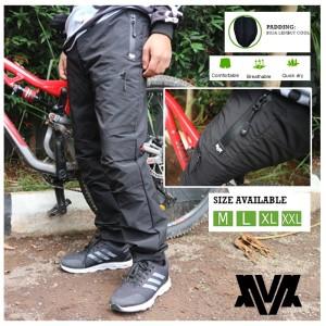 Harga celana sepedah padding original inv model panjang   hitam | HARGALOKA.COM