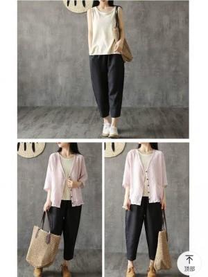 Harga celana kulot midi pants kulot pants skirt bawahan fashion wanita new   | HARGALOKA.COM