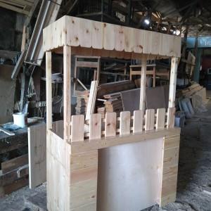 Harga booth grobak kayu | HARGALOKA.COM