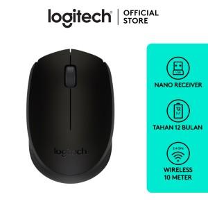 Harga logitech b170 mouse wireless     HARGALOKA.COM