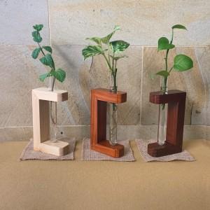 Harga vas bunga kaca dried flower rustic dekorasi pajangan meja kerja unik   light | HARGALOKA.COM