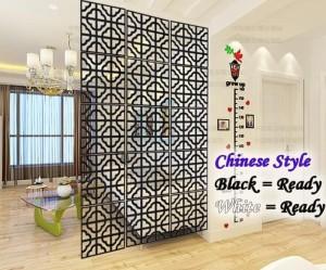 Harga vintage 3d chinese style tirai gantung partisi penyekat ruangan   | HARGALOKA.COM