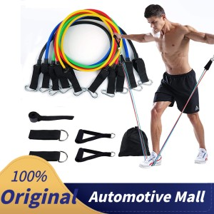 Info Resistance Band Set Tube Elastis Bands Fitness Gym Katalog.or.id