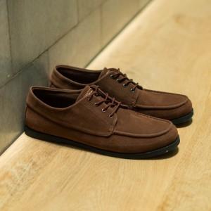 Harga maikor brown manneedme x jack sepatu sneakers pria casual original   cokelat   HARGALOKA.COM