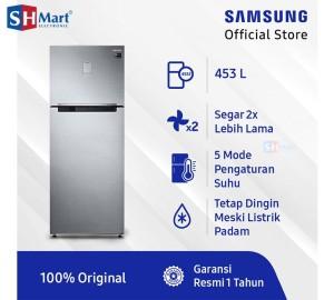 Harga kulkas 2 pintu samsung rt46k6231 twin cooling hemat listrik medan | HARGALOKA.COM