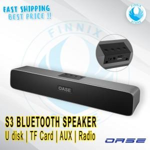 Harga oase s3 bluetooth speaker high quality sound   garansi resmi   | HARGALOKA.COM