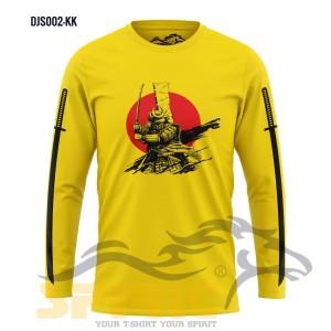 Harga kaos ninja samurai sword atasan lengan panjang pria cowok satuan murah   | HARGALOKA.COM