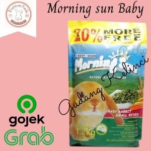 Info Morning Sun Baby Rabbit Small Bites Makanan Pelet Kelinci Rabbit Food Katalog.or.id