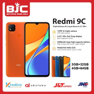 Harga xiaomi redmi 9c ram 4 64 ram 3 32   orange 3 | HARGALOKA.COM