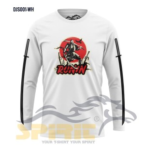 Harga pakaian ninja samurai runin kaos lengan panjang atasan pria murah   | HARGALOKA.COM