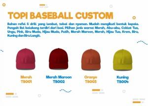 Harga topi baseball | HARGALOKA.COM