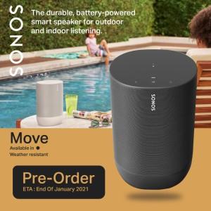 Harga sonos move audio speaker home theater wireless bluetooth | HARGALOKA.COM
