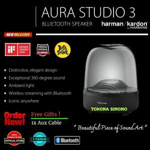 Harga harman kardon aura studio 3 bluetooth speakers with visually | HARGALOKA.COM