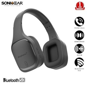 Harga sonicgear airphone 7 bluetooth headphones with | HARGALOKA.COM