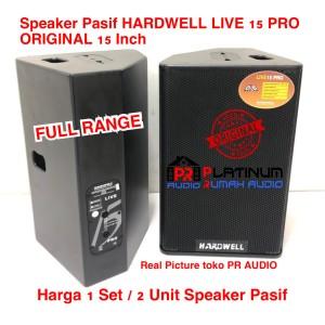 Harga speaker pasif hardwell live15pro live 15 pro original 15 inch 1 | HARGALOKA.COM