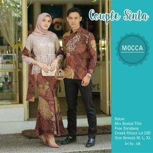 Harga kebaya brukat modern batik couple keluarga baju pasangan pesta terbaru   | HARGALOKA.COM