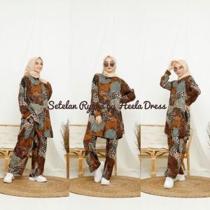 Harga setelan arab ryana by heela dress original baju wanita baju | HARGALOKA.COM