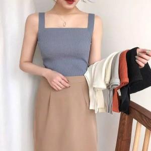 Harga korean tanktop tank top wanita fashion import   | HARGALOKA.COM