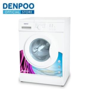 Harga denpoo mesin cuci front loading dfl 8 10g 8 kg   HARGALOKA.COM