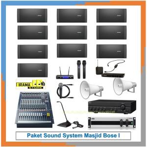 Harga paket sound system masjid bose   HARGALOKA.COM