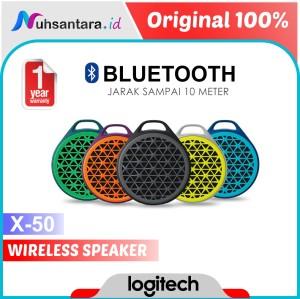 Harga logitech speaker bluetooth x50 wireless sound portable original   | HARGALOKA.COM