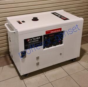 Harga genset silent gasoline kg 7500 shx by honda 5 kva 5000 | HARGALOKA.COM