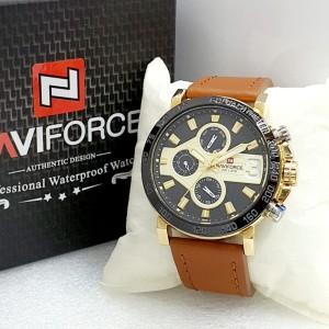 Harga jam tangan pria naviforce 9137 original crono aktif warna pilihan | HARGALOKA.COM