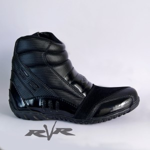Harga sepatu motor rvr rush v2 black     HARGALOKA.COM