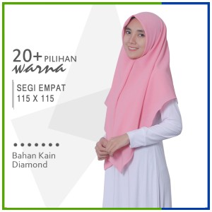 Harga jilbab segi empat 115 x 115 | HARGALOKA.COM