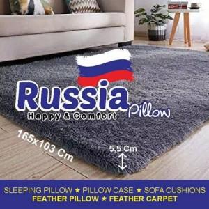 Harga karpet kasur lantai bulu empuk bahan lembut anti robek     HARGALOKA.COM