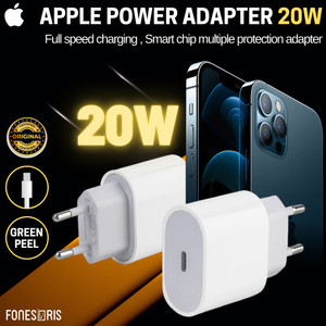 Harga fast charger iphone 20w usb c adapter kepala kaki 2 original iphone 12   two pin 2 | HARGALOKA.COM