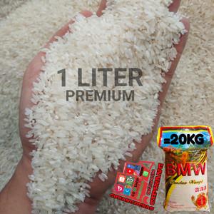 Harga beras super bmw aaa asli pandan wangi 1 liter | HARGALOKA.COM