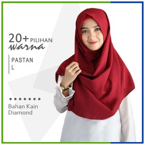 Harga jilbab pashmina instan l pastan zakia sala instan diamond crepe | HARGALOKA.COM