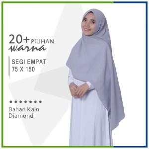 Harga jilbab segi empat 75 x 150 diamond pashmina sabyan | HARGALOKA.COM