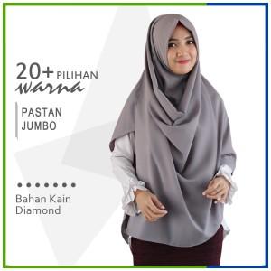 Harga jilbab pashmina instan jumbo pastan zakia diamond crepe | HARGALOKA.COM