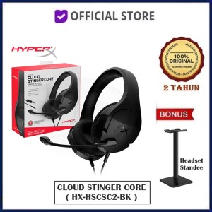 Harga hyperx cloud stinger core kingston wired pc gaming headset headphone   headset | HARGALOKA.COM