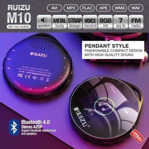 Harga ruizu m10 mp3 mp4 audio player bluetooth hq sq flac lossless | HARGALOKA.COM