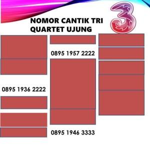 Harga nomor cantik three 3 tri kartu perdana aon 4g quartet harga | HARGALOKA.COM