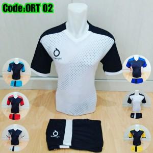 Harga spc 07 baju olahraga jersey bola kaos setelan futsal volly specs   hitam elektrik | HARGALOKA.COM