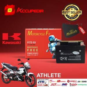 Harga aki motor kawasaki athlete accu mf gtz5s accu kering aki mf | HARGALOKA.COM