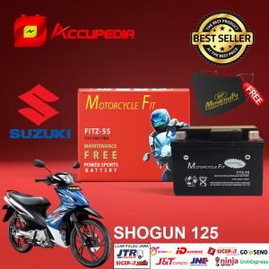 Harga aki motor suzuki shogun 125 accu mf gtz5s accu kering aki mf | HARGALOKA.COM