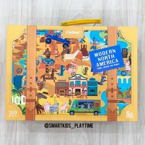 Harga mideer puzzle travel around the world   north | HARGALOKA.COM