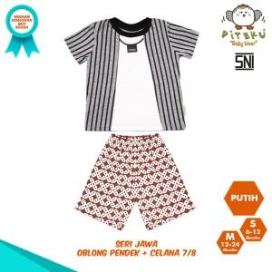 Harga piteku setelan baju bayi laki laki s 6 12 bulan amp m 12 24 bulan   jawa   | HARGALOKA.COM