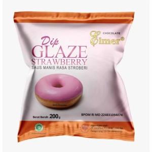 Harga elmer dip glaze strawberry 200   HARGALOKA.COM