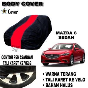 Harga sarung mobil mazda 6 sedan single merah body cover penutup mazda | HARGALOKA.COM