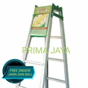 Harga New Tangga Lipat Aluminium Merk Master 2 5 Meter Katalog.or.id